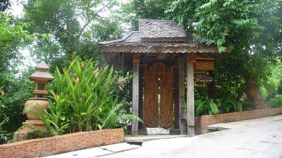 Santhiya Koh Yao Yai Resort & Spa: Eingang zur Villa