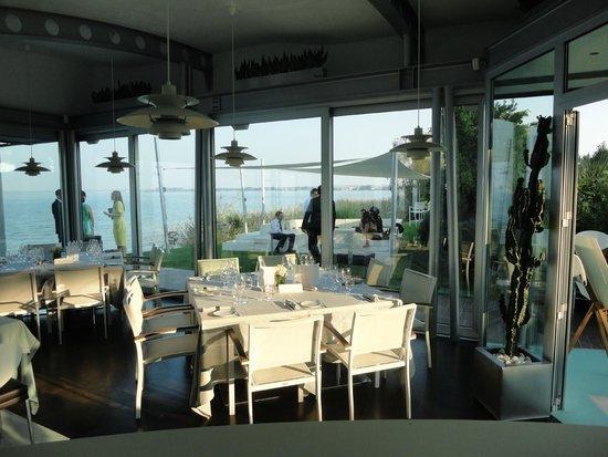 Tancredi Restaurant: Sala a vetri - tavolo imperiale per 8 pax