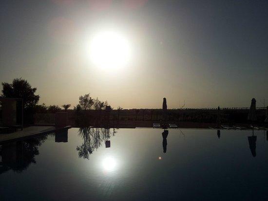 Steigenberger Makadi Hotel: zwembad bij zonsopgang