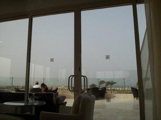 Steigenberger Makadi Hotel: uitzicht vanuit de bar