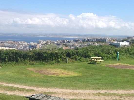 Ayr Holiday Park: View from our pitch