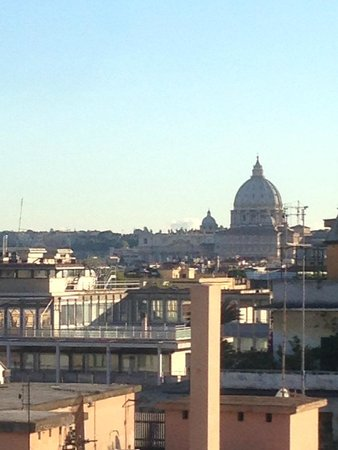 River Palace Hotel: Vatican from the Balcony