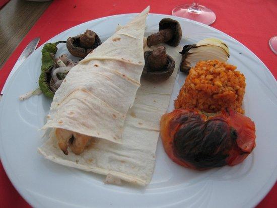 "Paloma Club Sultan Ozdere: repas du restau ""Safran"""