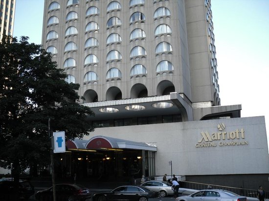 Montreal Marriott Chateau Champlain: Extérieur de l'hôtel