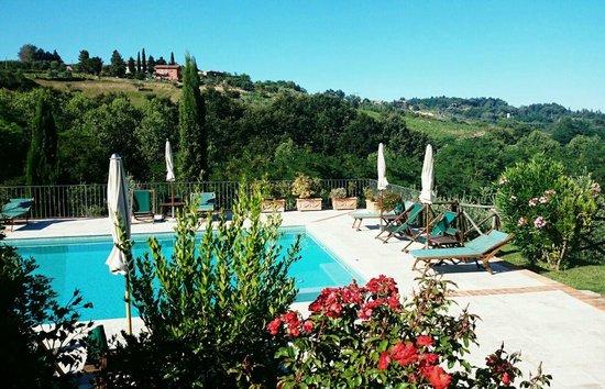 Tenuta delle Rose : Pool und Landschaft