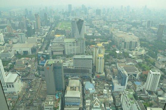 Baiyoke Sky Hotel: Вид из номера