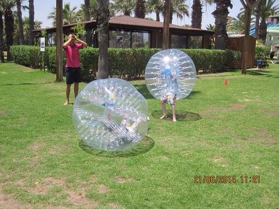 Holiday Village Manar: zorbing fun