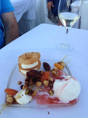 Ambrosia Restaurant: Moroccan dessert