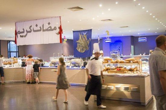 Kenzi Club Agdal Medina: Soirée au restaurant principal