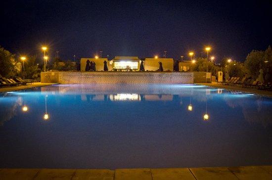"Kenzi Club Agdal Medina: La piscine ""calme"" de nuit"