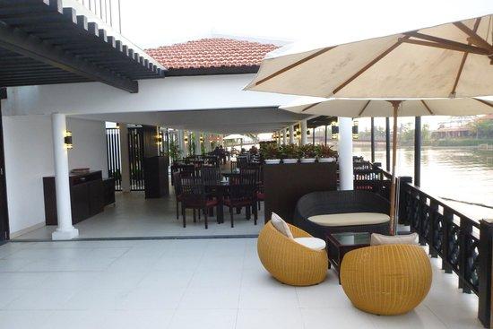 Hoi An Beach Resort: ресторан