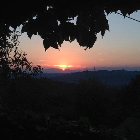 Cascina delle Rose : Beautiful sunset
