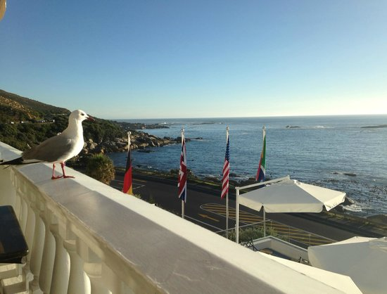 The Twelve Apostles Hotel and Spa: View from the Leopard Lounge's balcony
