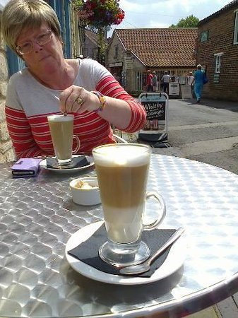 Scotts of Helmsley: lovely latte
