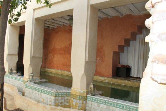Riad Misria: Het zwembad