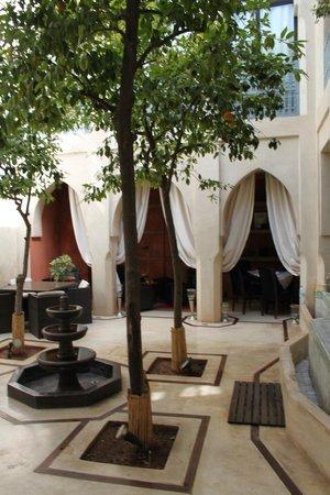 Riad Misria: De binnenplaats