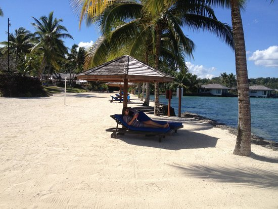 Warwick Le Lagon - Vanuatu : Quite and relaxing near the lagoon