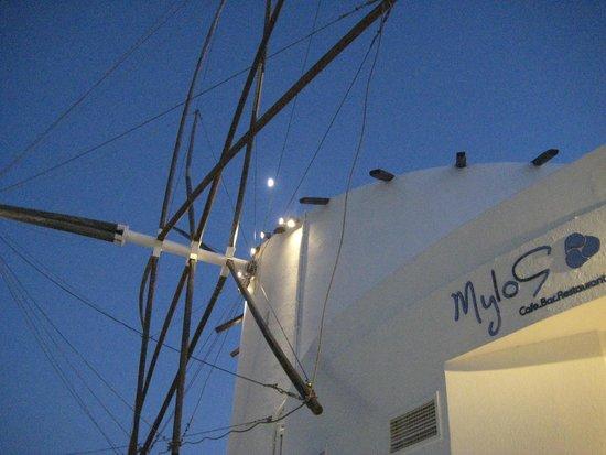 Mylos Bar Restaurant: Loved the hieght
