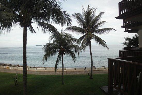 Sutera Harbour Resort (The Pacific Sutera & The Magellan Sutera) : view from room