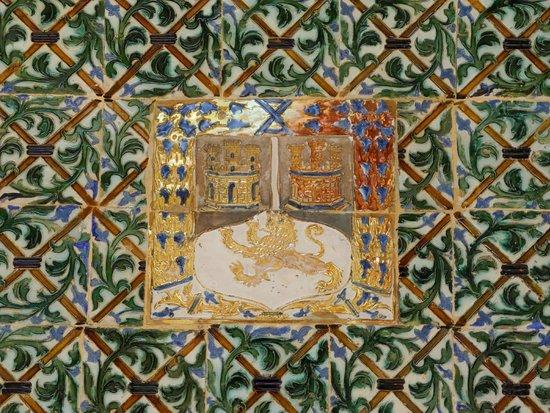 Casa de Pilatos: Farbige Azulejos