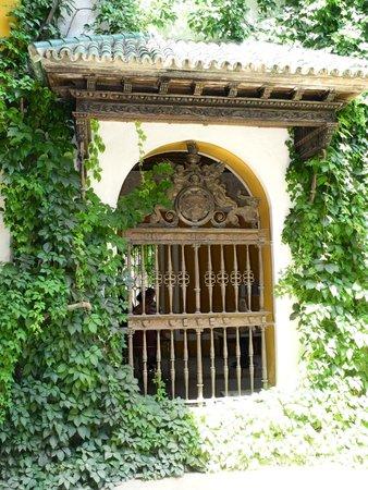 Garten im Casa de Pilatos