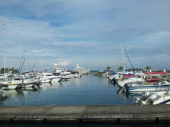 Sutera Harbour Resort (The Pacific Sutera & The Magellan Sutera): marina