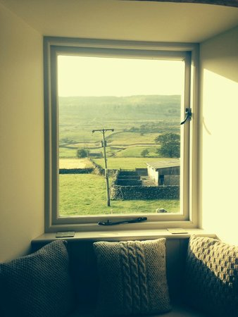 Dale House Farm: View from our bedroom...simply idyllic.