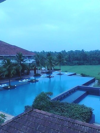 Alila Diwa Goa: The swimming pool from the west wing