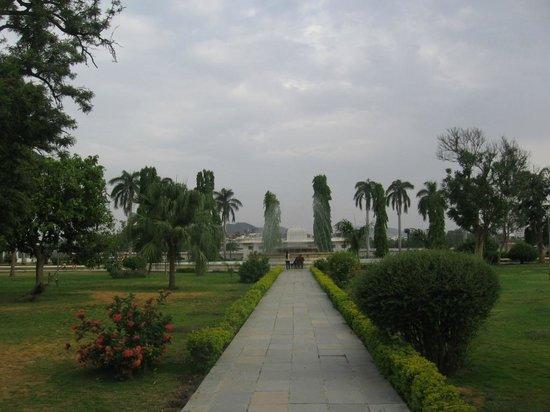 Fountain in nehru park