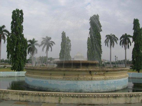 Nehru Park: Fountains