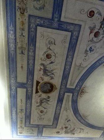 Villa Tolomei Hotel and Resort : les plafonds