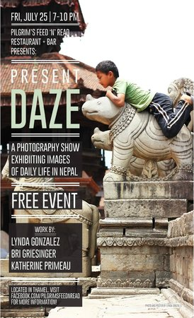 Pilgrims 24 Restaurant & Bar : Present Daze: Photo Show