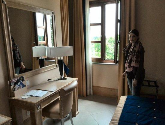 Villa Tolomei Hotel and Resort : la chambre