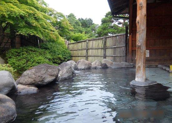 Okabeso: 露天風呂です。
