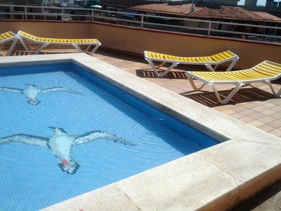 ALEGRIA San Juan Park: Бассейн на крыше