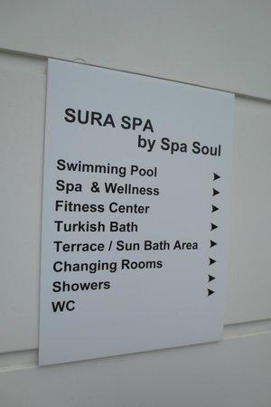 Sura Hagia Sophia Hotel: spa