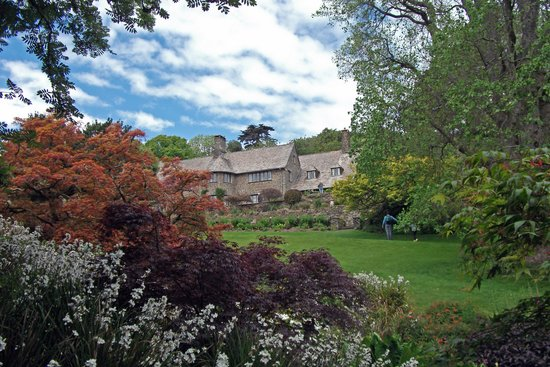 Coleton Fishacre: The House From The Upper Pond