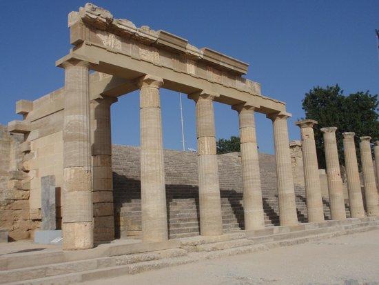 Acropolis of Lindos: Akropolis von Lindos