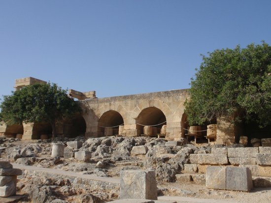 Acropolis of Lindos: Innenbereich