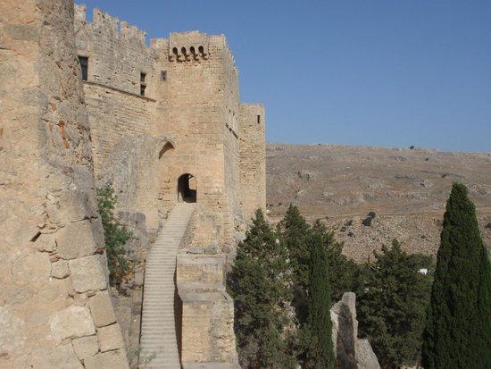 Acropolis of Lindos: Eingang