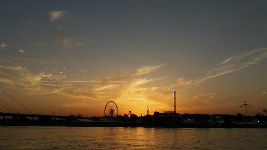 Rheinufer: Sunset