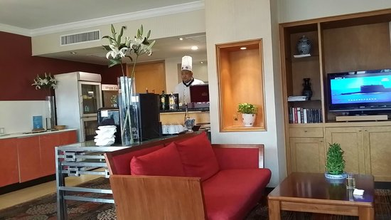 Novotel Xinqiao Beijing : Executive Lounge