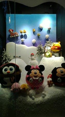 Hamleys Toy Store: Window display for 2014 Winter