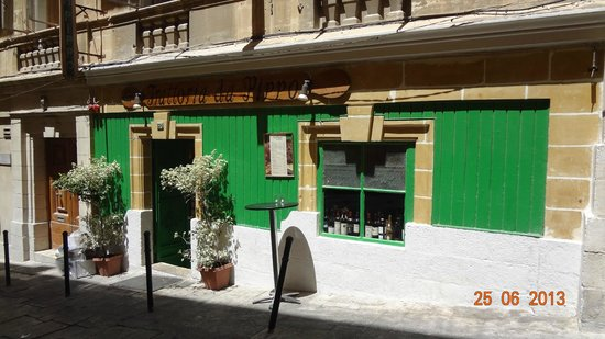 Da Pippo Trattoria: Tucked away from Valletta's main street, book it!