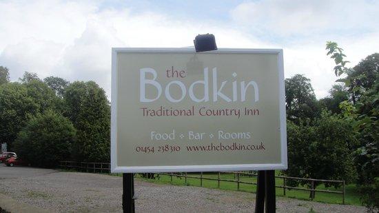 Bodkin House Hotel: Signage