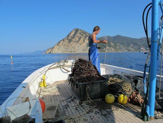 Pescaturismo a Monterosso