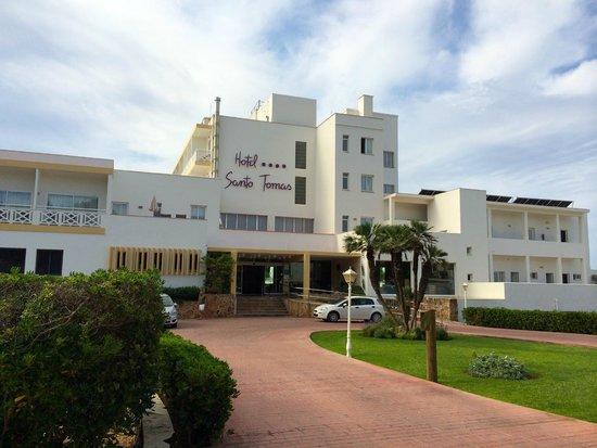 Hotel Santo Tomas : hotel ingresso