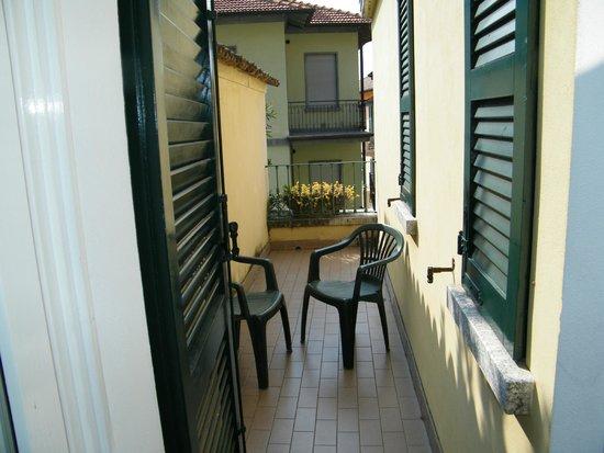 Hotel Monte Codeno: Balcone