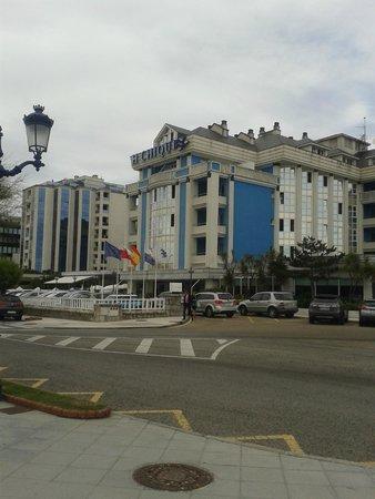 Hotel Chiqui: Fachada del hotel