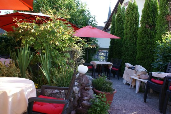 Restaurant a la Chotte : La terrasse